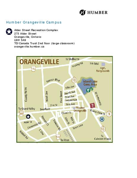 Hockley Valley Resort Ski Trail Map Orangeville Ontario Canada