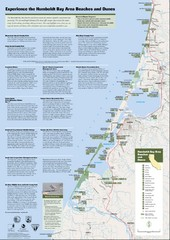 Humboldt Bay Area Beaches and Dunes Map