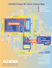 Hunter College Campus Map