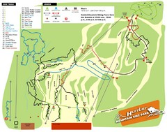 Hunter Mountain Bike Park Map