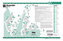 Huntsville, Texas State Park Facility Map