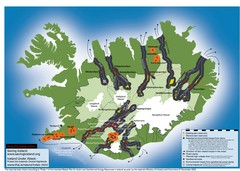 Iceland Dam and Geothermal Impact Map