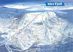 Idre Ski Trail Map