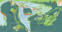 Iguazu National Park Map