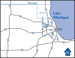 Illinois Highway Map