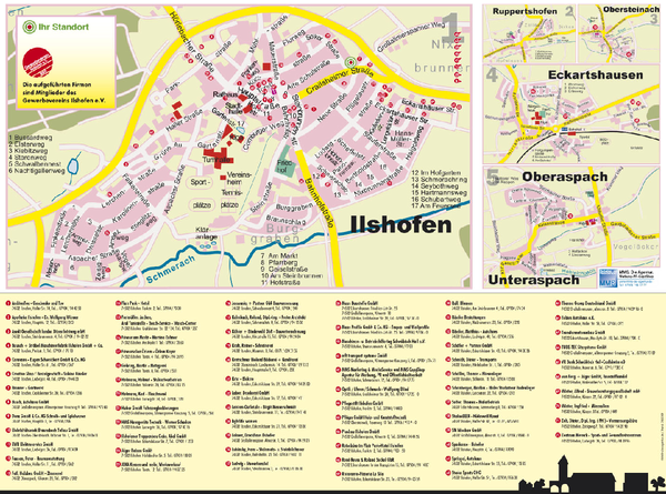 real life map collection mappery – Nuremberg Tourist Map