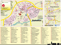Illshofen Tourist Map