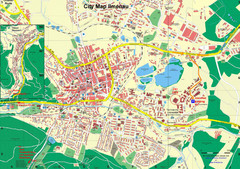 Ilmenau City Map