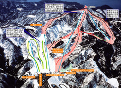 Imajō 365 Ski Trail Map