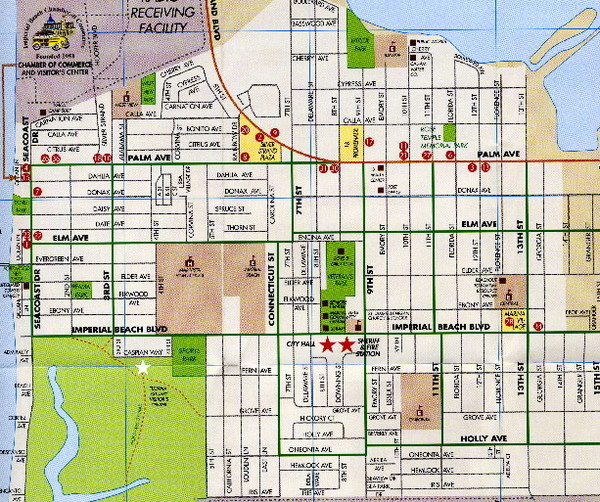 Imperial Beach San Diego Map Imperial Beach San Diego mappery – Tourist Map San Diego