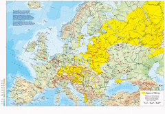 Incidents of Tick Borne Encephalitis in Europe, East Asia and Russia Map