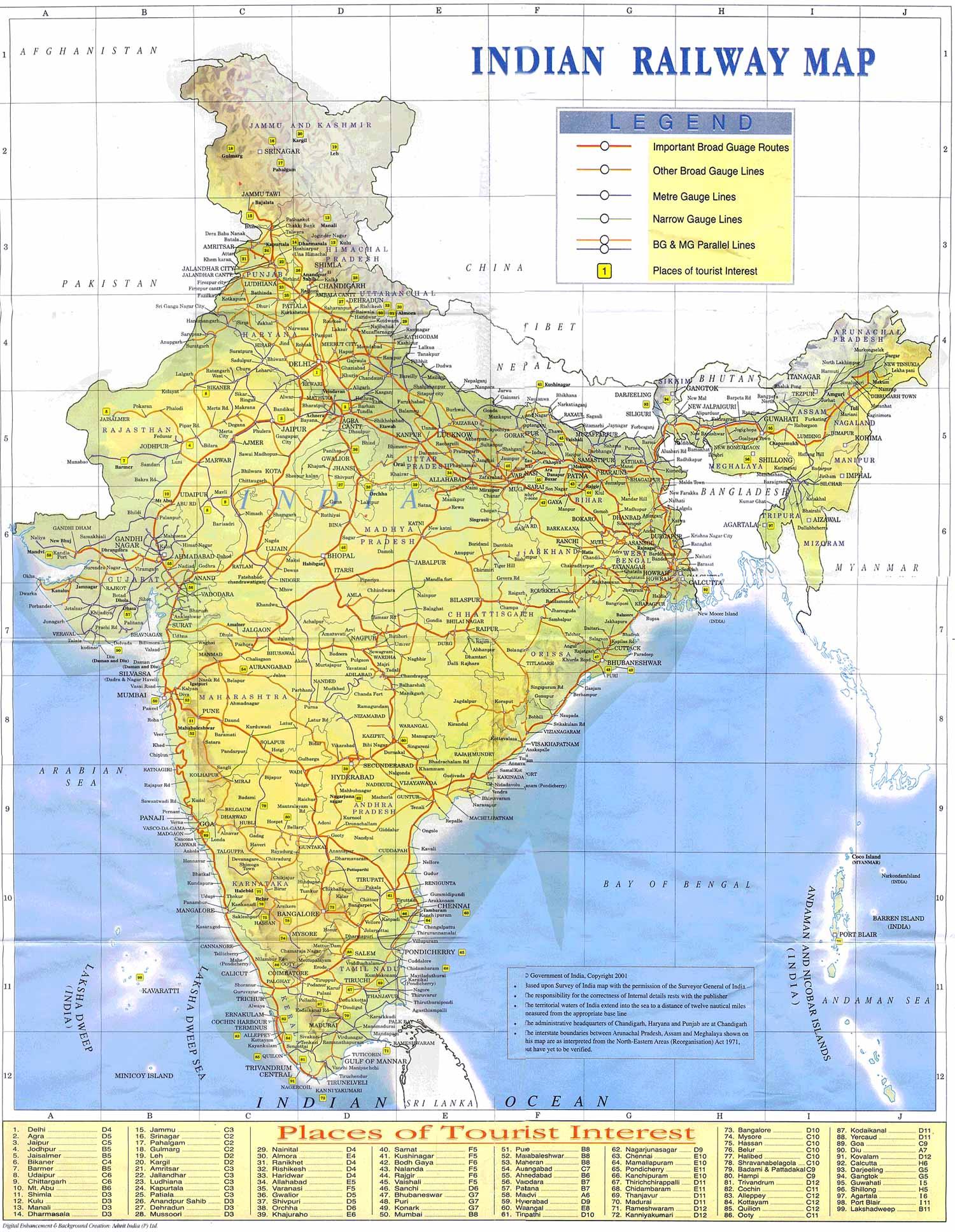 VIAJEROS EN INDIA: Como viajar en India en Tren