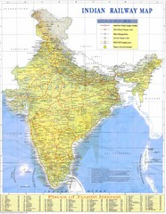 Indian Railway Map