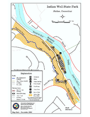 Indian Well State Park map