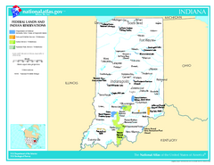 Indiana - Federal Lands and Indian Reservations...