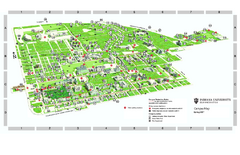 Indiana University - Bloomington Map