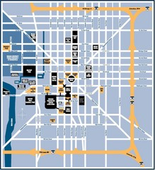 Indianapolis Tourist Map