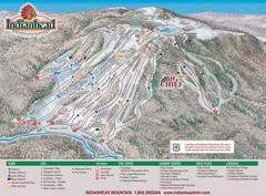 Indianhead Mountain Resort Ski Trail Map