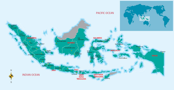 Indonesia Overview map