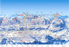 Innsbruck Region Ski Map