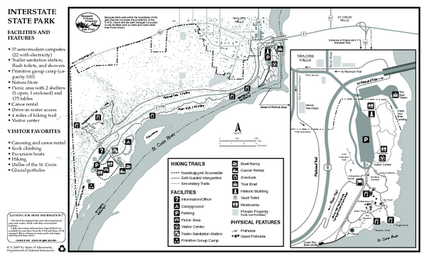 Interstate State Park Map