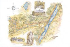 Invergarry Tourist Map
