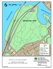 Inwood Hill Park Trail Map