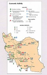 Iran Economic Activity Map