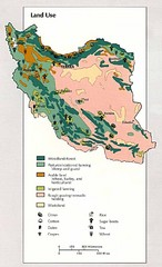 Iran Land Use Map