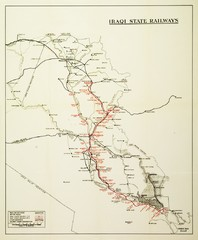 Iraq Railways Map