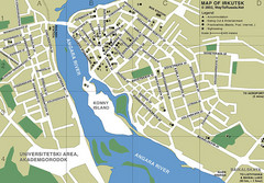 Irkutsk City Map