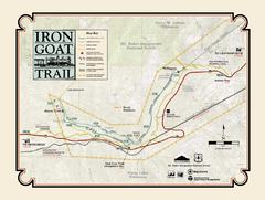 Iron Goat Trail Map