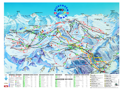 Ischgl – Galtur Ski Trail Map