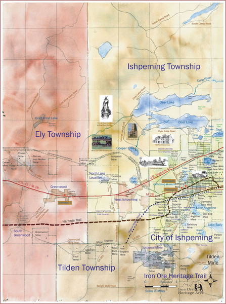 Ishpeming Trail Map