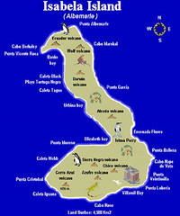 Isla Isabela Tourist Map