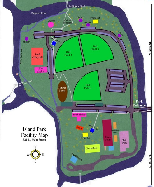 Facility Site Map Example: Mt Pleasant Michigan • Mappery