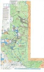 Island Park Idaho Area Snowmobile Map