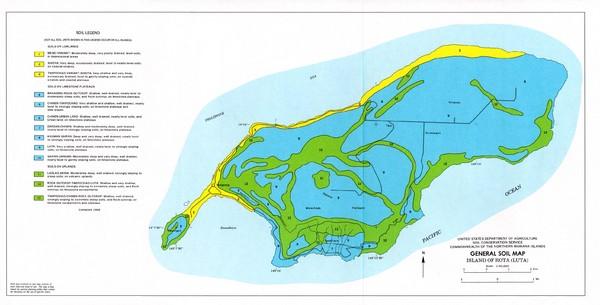 Mariana Island Map