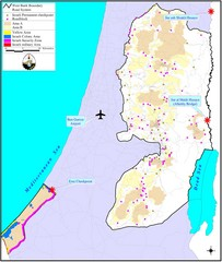 Israel Military Map