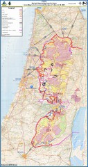 Israel Security Fence Route Map