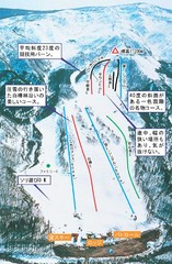 Isshiki Kokusai Ski Trail Map