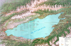 Issyk Kul Map