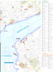 Istanbul - East half Map