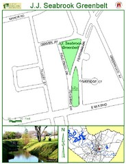J.J. Seabrook Greenbelt Map