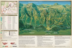 Jackson Hole Summer Mountain Biking/Hiking map