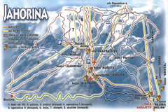 Jahorina Ski Trail Map