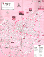 Jaipur Tourist Map