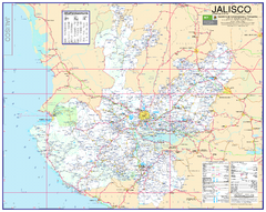 Jalisco Road Map