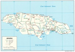 Jamaica Tourist Map