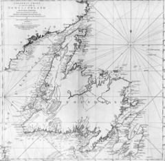 James Cook's Newfoundland Map